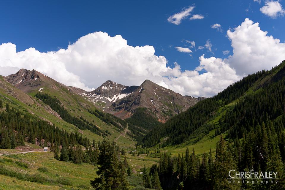 The San Juan Mountains of Colorado.