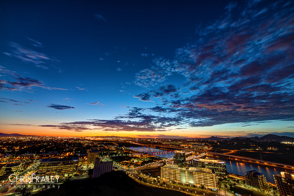 Sunset Over Tempe